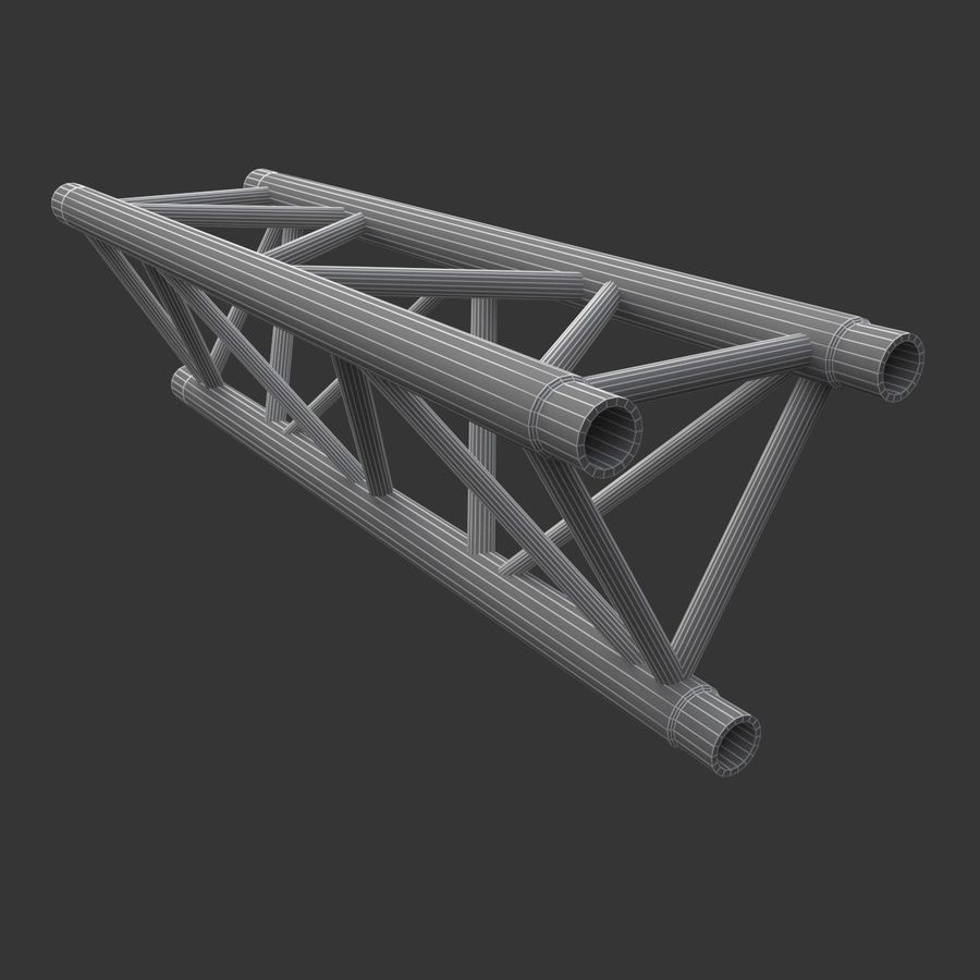 Modular Truss Collection royalty-free 3d model - Preview no. 22