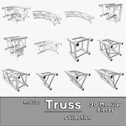 Modulaire Truss-collectie 3d model