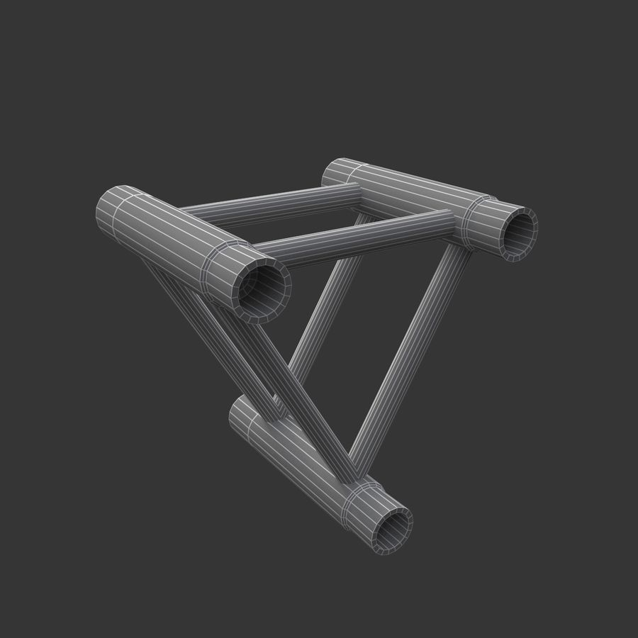 Modular Truss Collection royalty-free 3d model - Preview no. 20