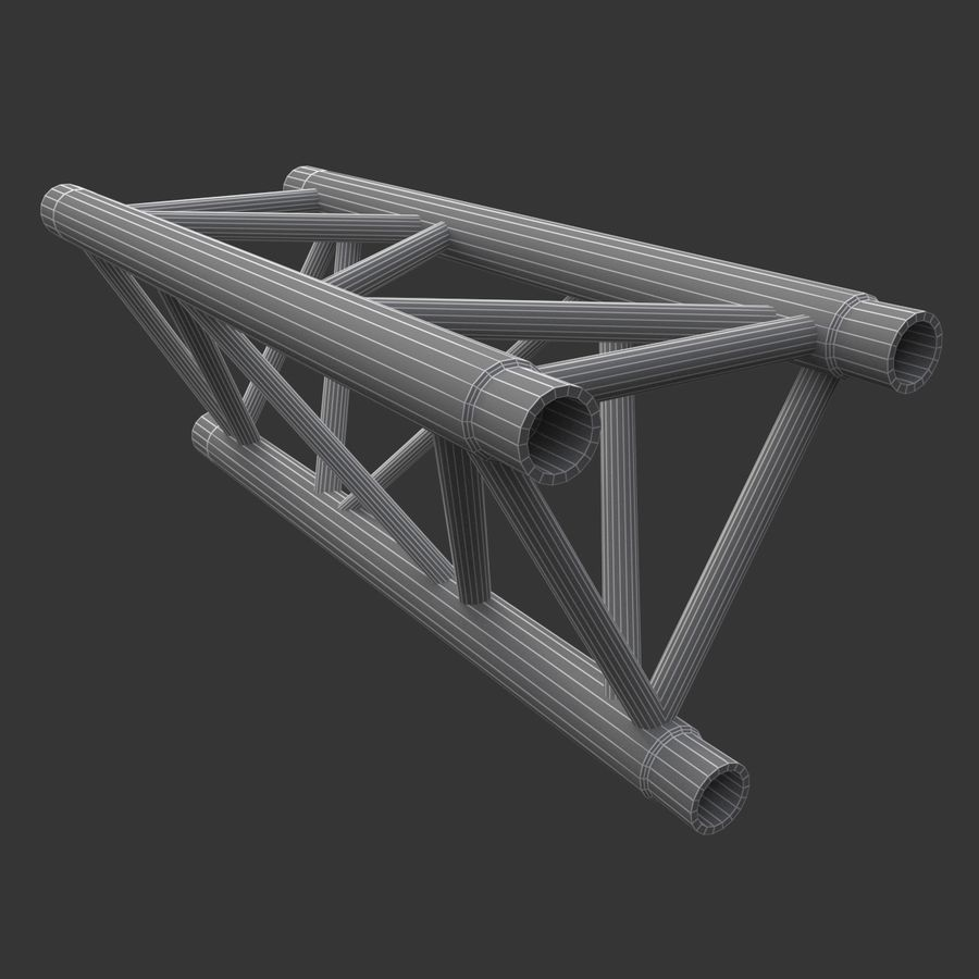 Modular Truss Collection royalty-free 3d model - Preview no. 21
