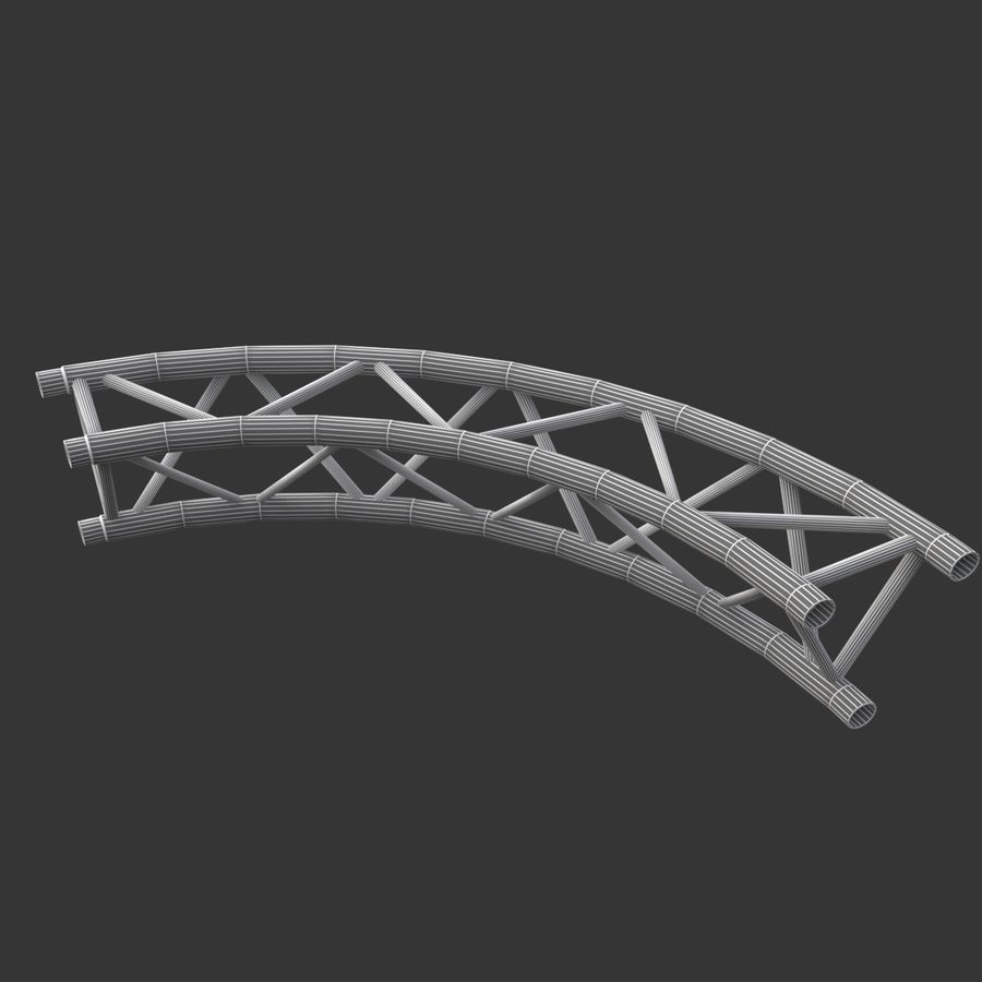 Arc & Corner Truss Collection royalty-free 3d model - Preview no. 13
