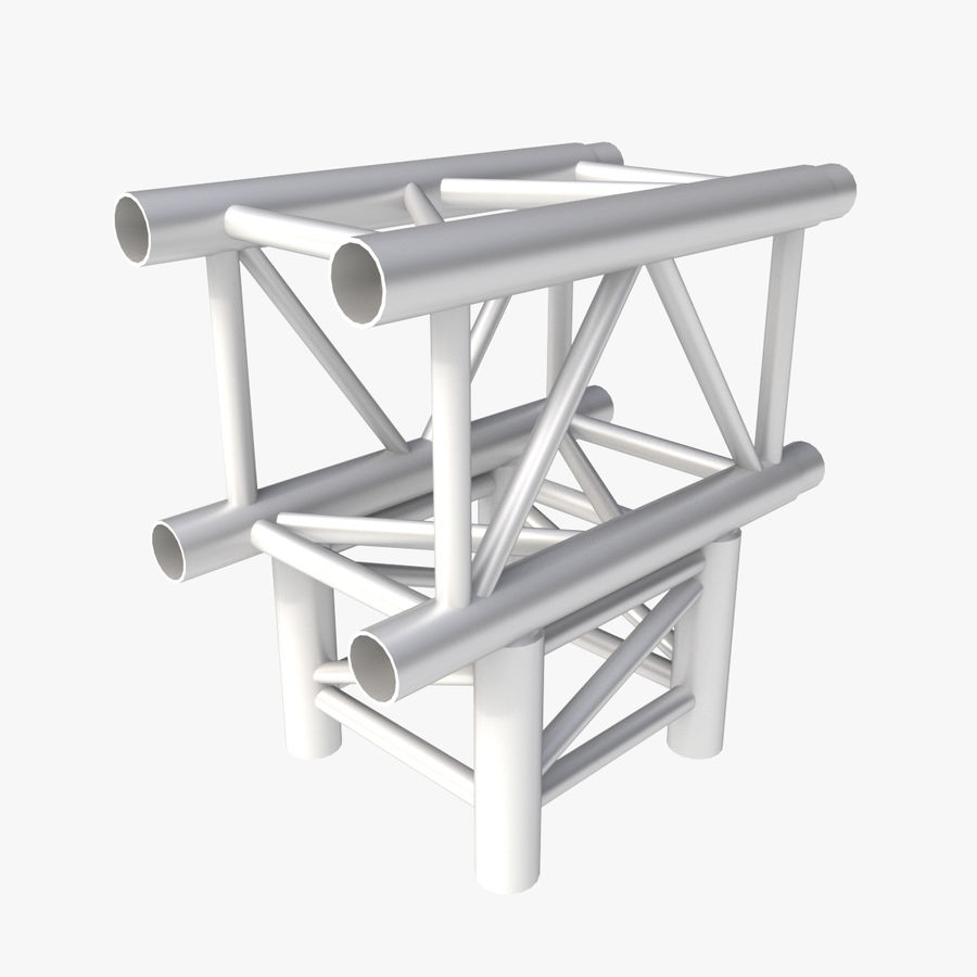 Arc & Corner Truss Collection royalty-free 3d model - Preview no. 4