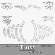 Arc & Corner Truss Collection 3d model