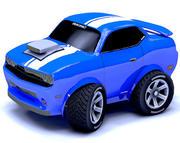 Toon Car Challeng två nät 3d model