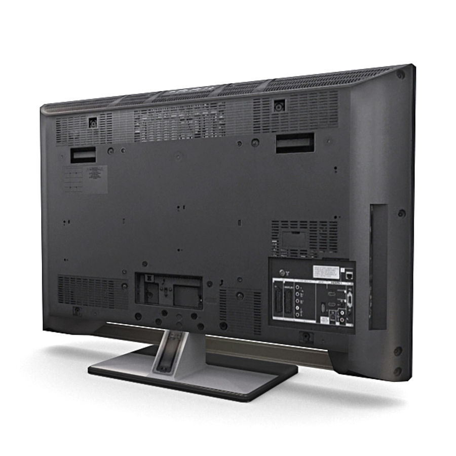 Home Theatre System 1 royalty-free 3d model - Preview no. 3