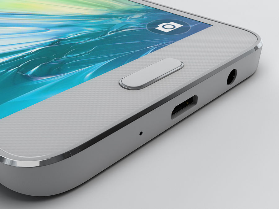 Samsung Galaxy A3 royalty-free 3d model - Preview no. 19