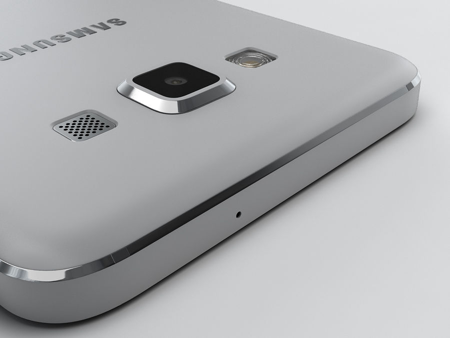 Samsung Galaxy A3 royalty-free 3d model - Preview no. 21