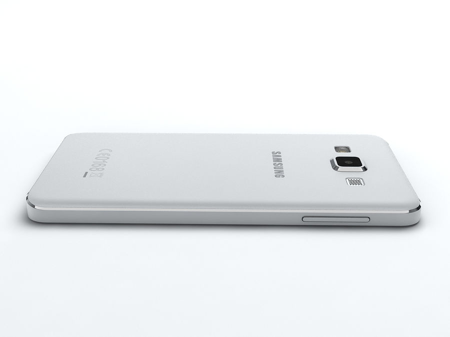 Samsung Galaxy A3 royalty-free 3d model - Preview no. 15