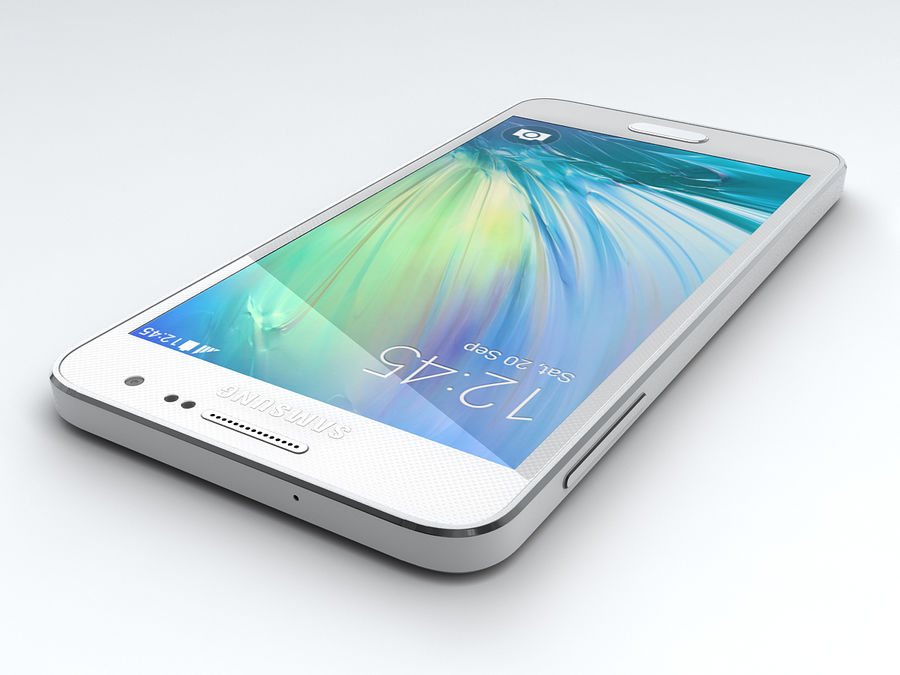 Samsung Galaxy A3 royalty-free 3d model - Preview no. 11