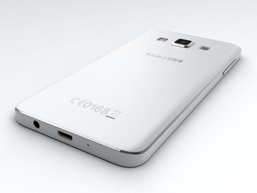 Samsung Galaxy A3 royalty-free 3d model - Preview no. 13