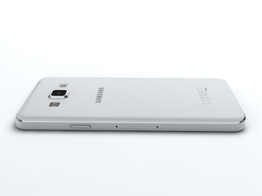 Samsung Galaxy A3 royalty-free 3d model - Preview no. 17