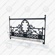 Railing Seamless 3d model