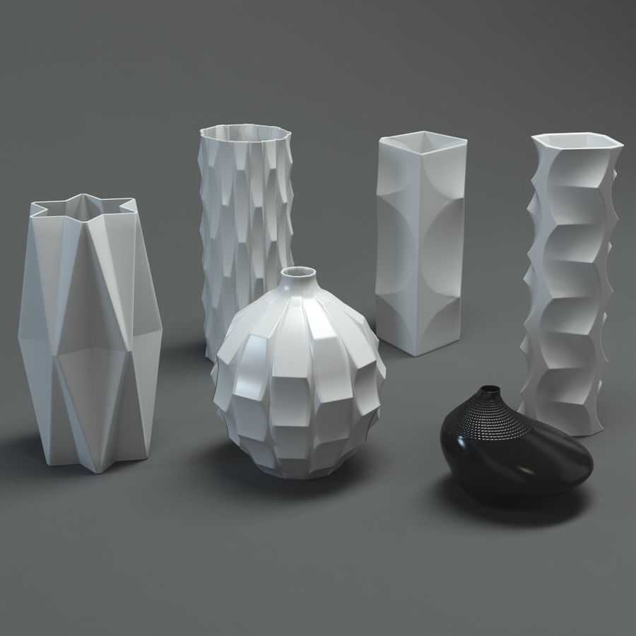vase royalty-free 3d model - Preview no. 2