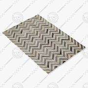 BoConcept Amada地毯106071007870 3d model