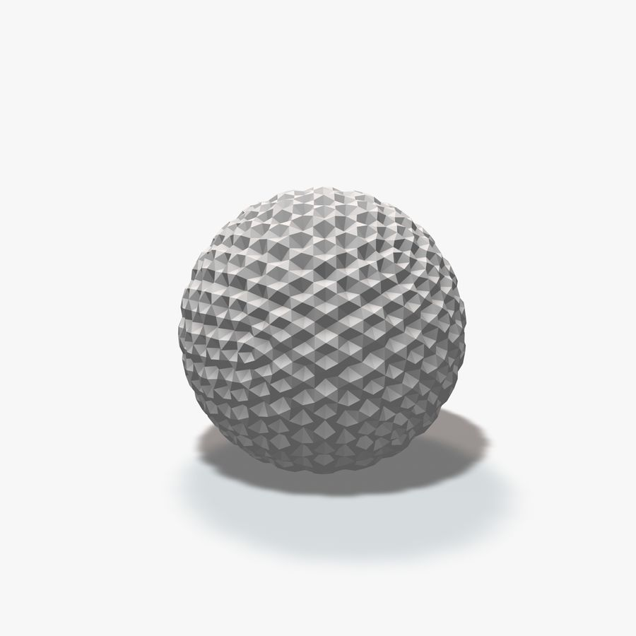 18 Geometric Spheres royalty-free 3d model - Preview no. 11