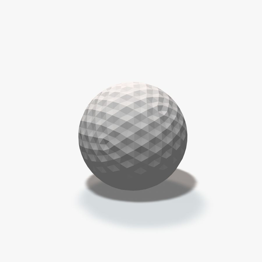 18 Geometric Spheres royalty-free 3d model - Preview no. 18