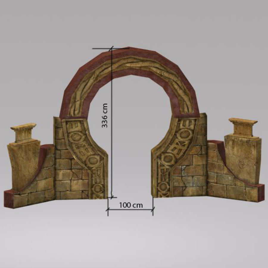 Arco royalty-free modelo 3d - Preview no. 8