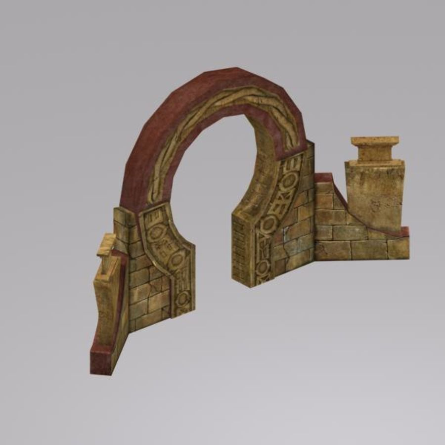 Łuk royalty-free 3d model - Preview no. 7