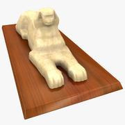 Estatua de la esfinge modelo 3d