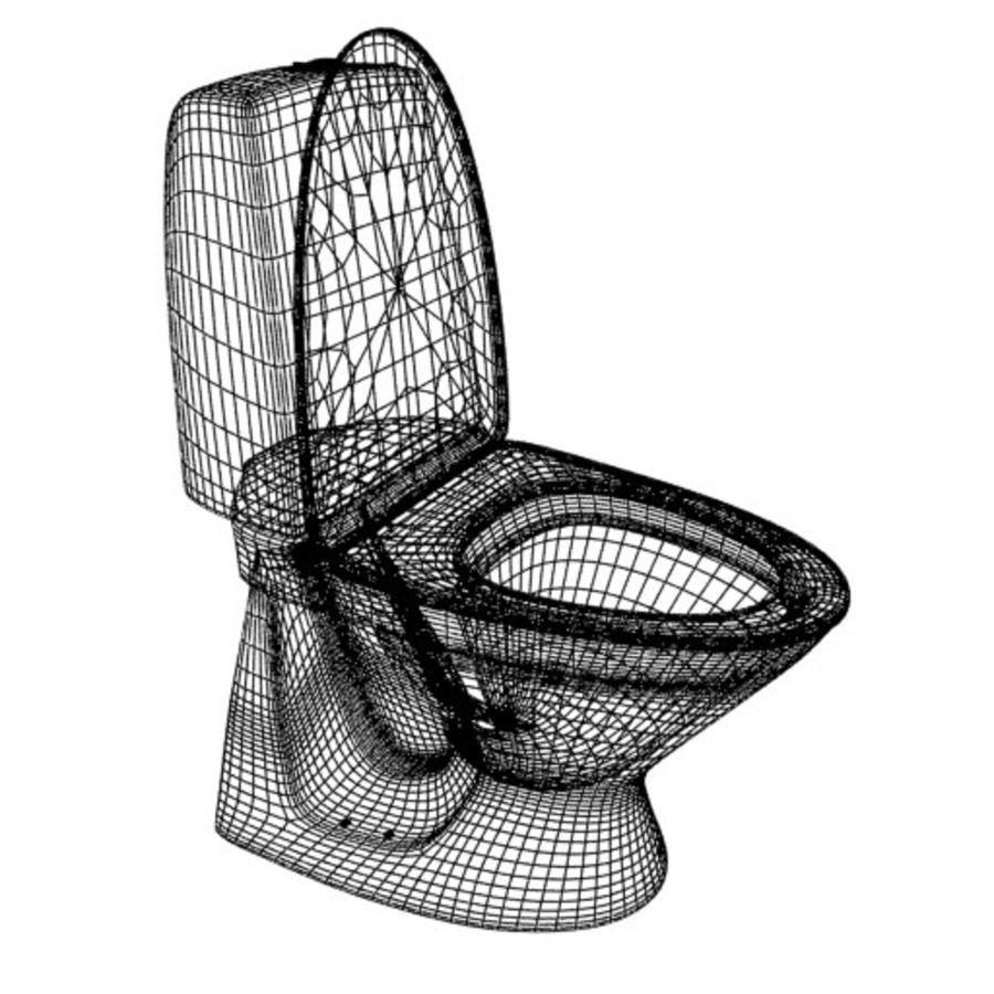 厕所建筑 royalty-free 3d model - Preview no. 2