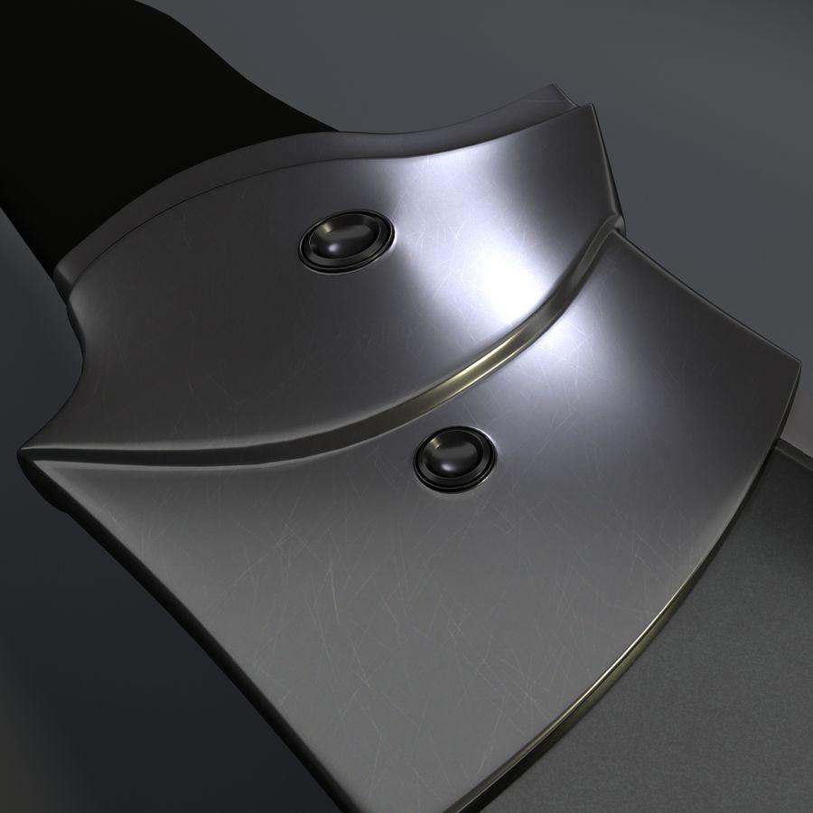 Scorpion Machete royalty-free 3d model - Preview no. 6