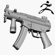 MP5-K 3d model
