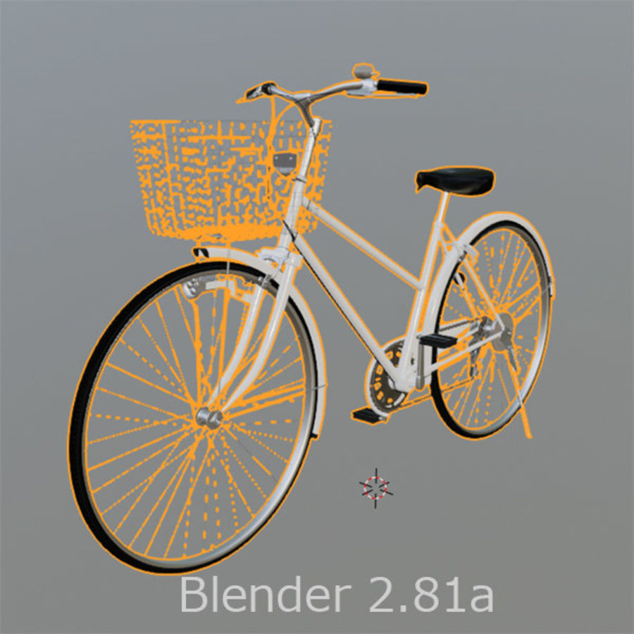 Bicycle 01 royalty-free 3d model - Preview no. 5