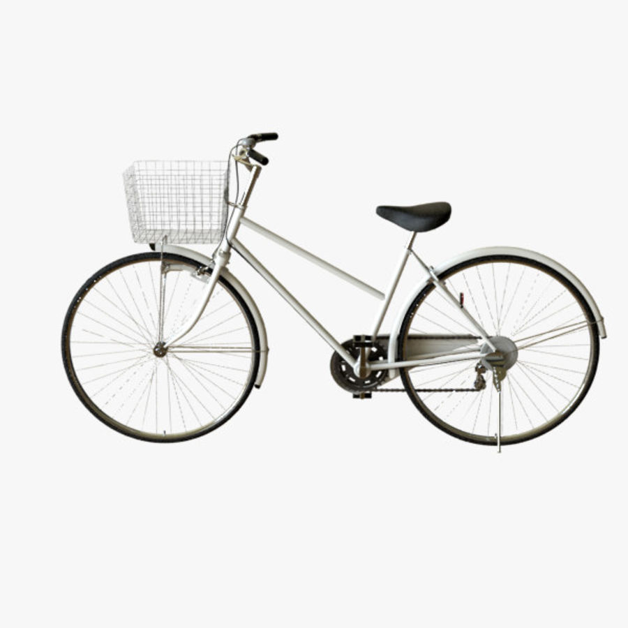 Bicycle 01 royalty-free 3d model - Preview no. 1