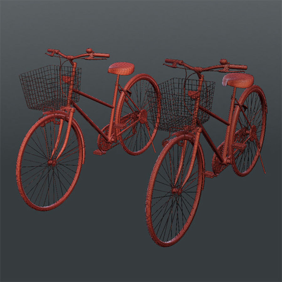 Bicycle 01 royalty-free 3d model - Preview no. 4