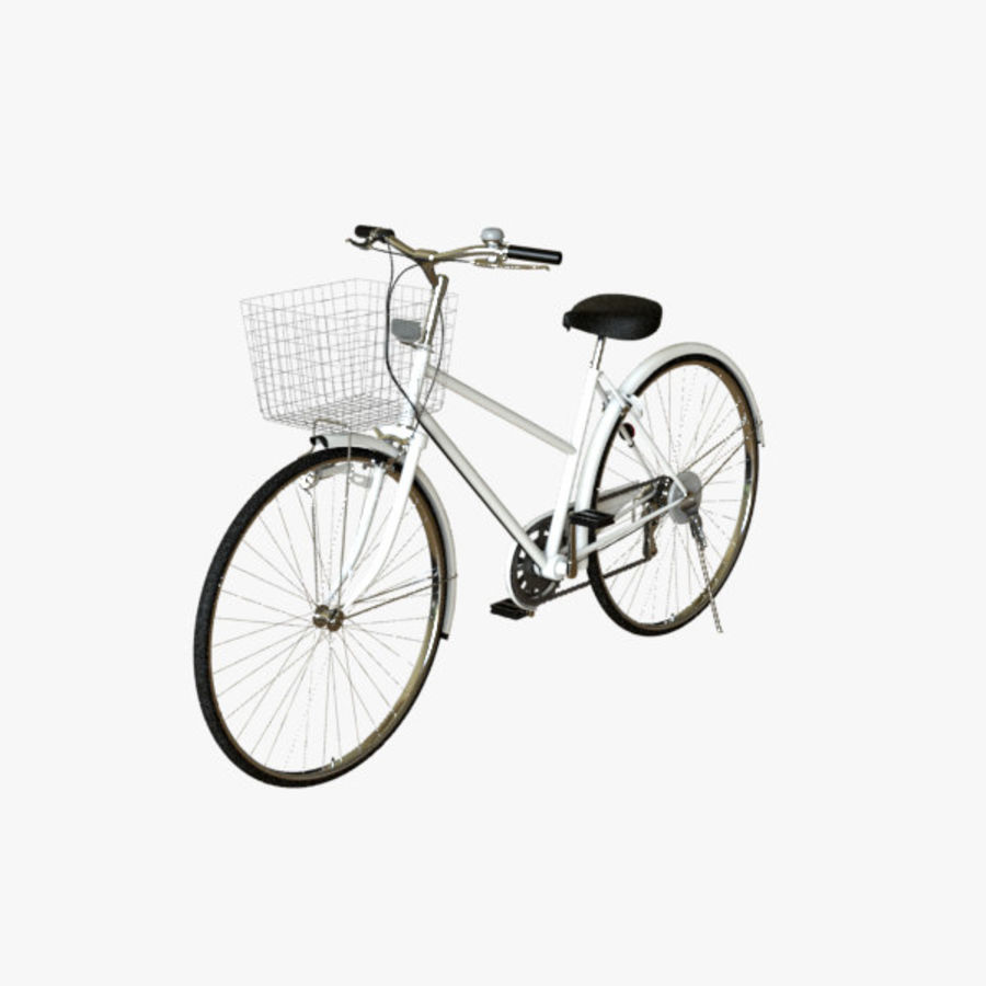 Bicycle 01 royalty-free 3d model - Preview no. 2