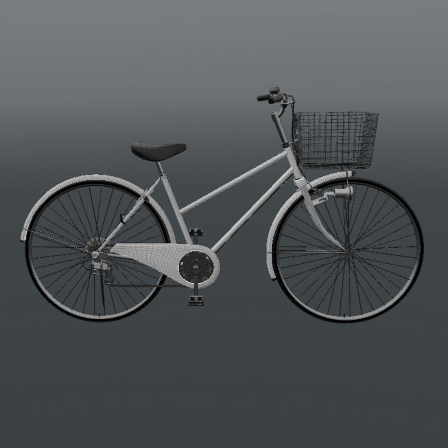 Bicycle royalty-free 3d model - Preview no. 6