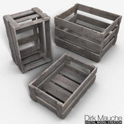 板条箱 3d model