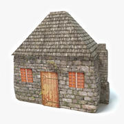 중세의 집 3d model