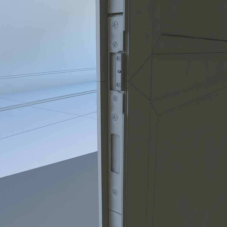 Door - Portal - Cityscape royalty-free 3d model - Preview no. 10