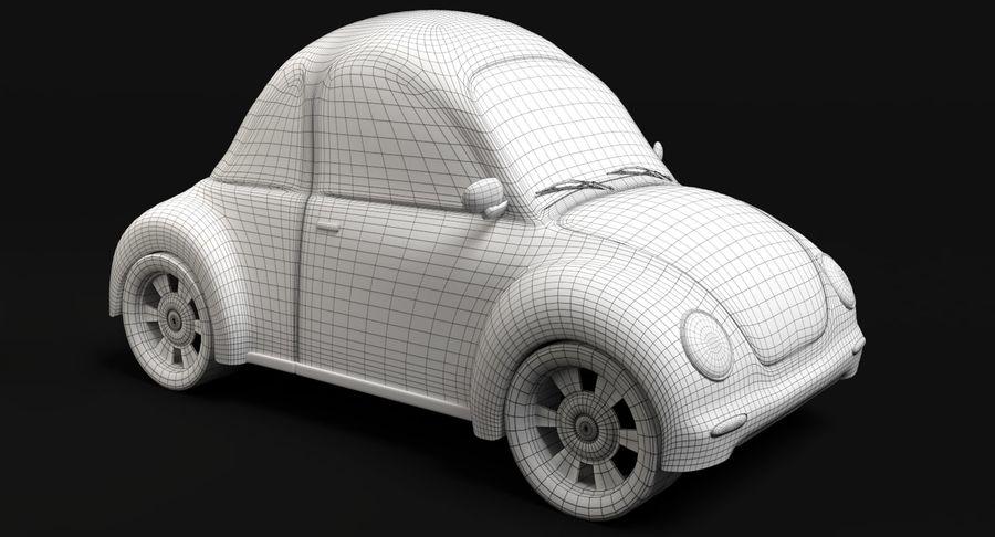 Cartoon Car 2 royalty-free 3d model - Preview no. 8