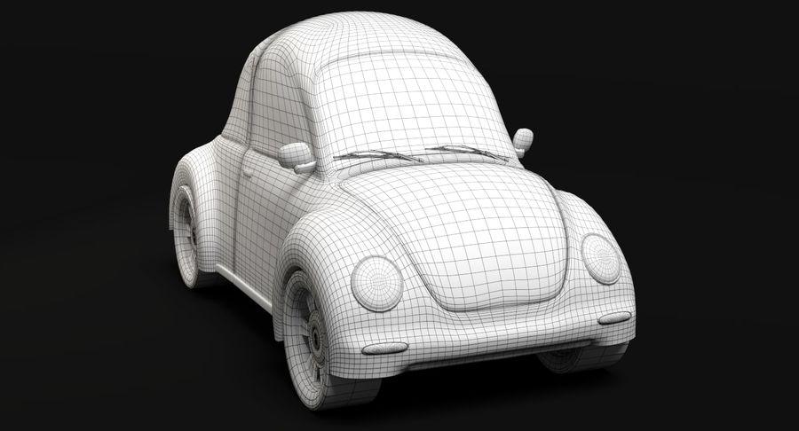 Cartoon Car 2 royalty-free 3d model - Preview no. 9