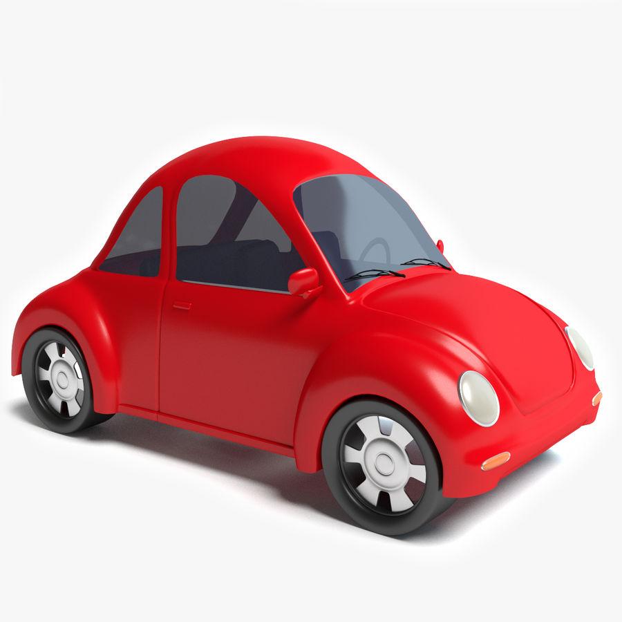 Cartoon Car 2 royalty-free 3d model - Preview no. 1