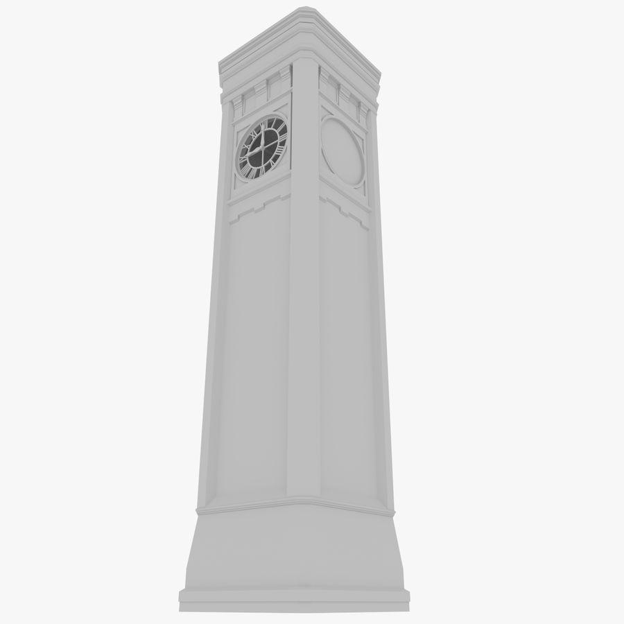 Klokkentoren drie met interieur royalty-free 3d model - Preview no. 3
