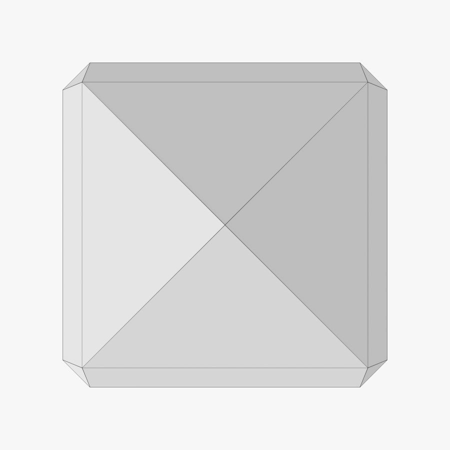 Klokkentoren drie met interieur royalty-free 3d model - Preview no. 23