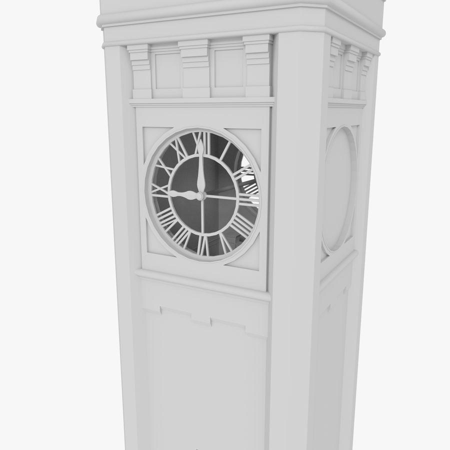Klokkentoren drie met interieur royalty-free 3d model - Preview no. 5