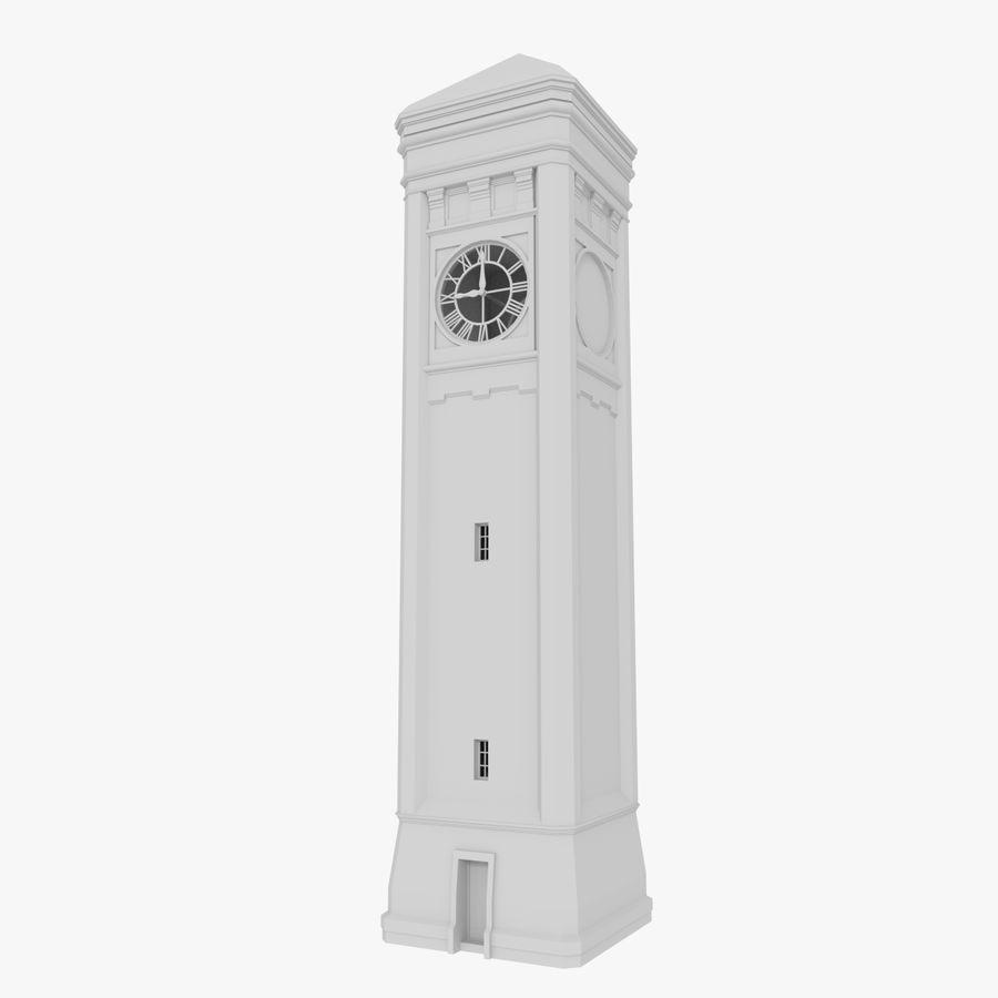 Klokkentoren drie met interieur royalty-free 3d model - Preview no. 1