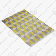 Suzanne forte chiesa jaune tapis 3d model