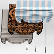 Curtains with pick-up 3d model
