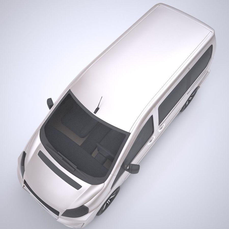 Fiat_Car royalty-free 3d model - Preview no. 2