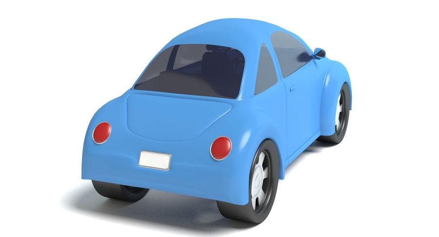 Cartoon auto royalty-free 3d model - Preview no. 5
