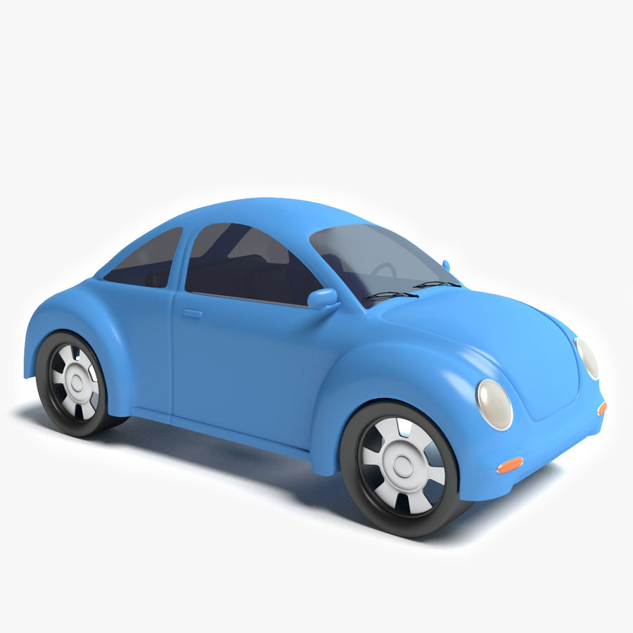 Cartoon auto royalty-free 3d model - Preview no. 1