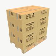 Euro Pallet Type 3 Low Poly 3d model