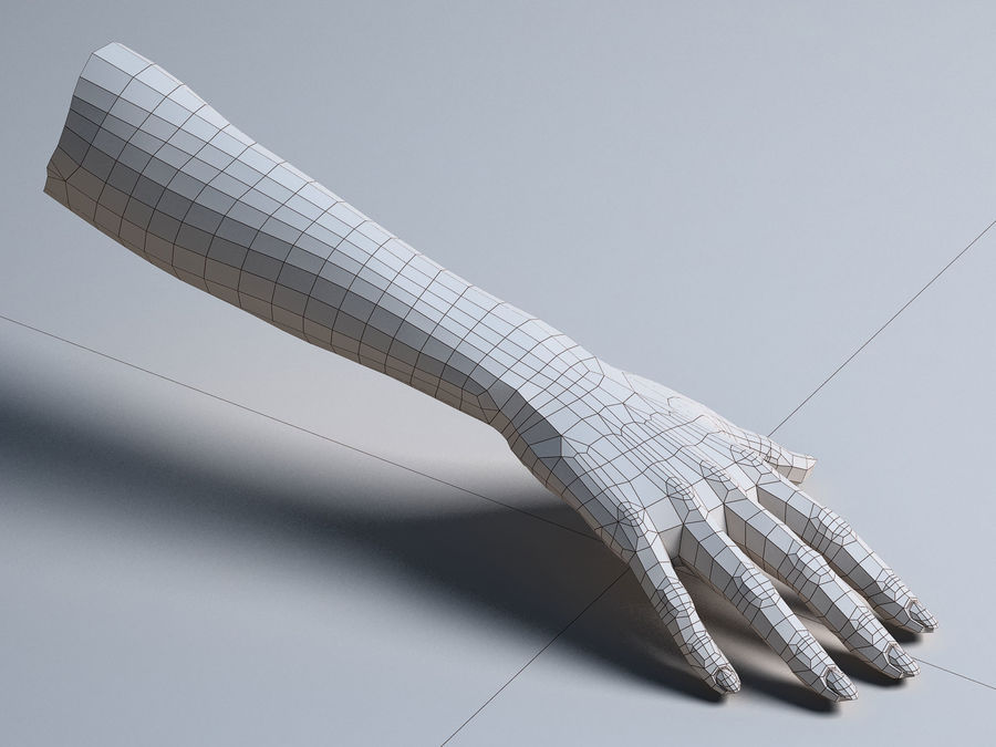 Female Arm A royalty-free 3d model - Preview no. 12