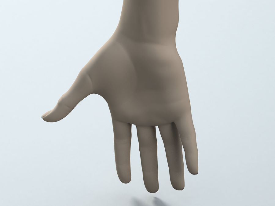 Female Arm A royalty-free 3d model - Preview no. 6