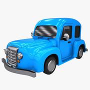 Zeichentrickwagen 5 3d model